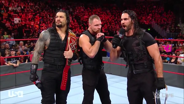 Roman Reigns / the Shield  -  Screencaps Raw (Sept. 24, 2018)
