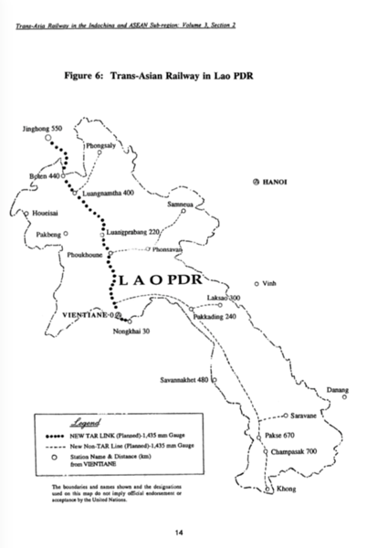 Trans-Asian Railway in Lao PDR