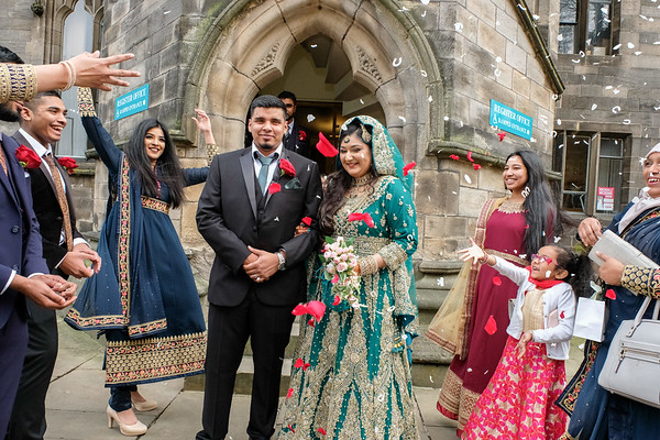 Wedding Photography at Rochdale Town Hall