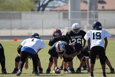 Alliance Spring Football 2012 - YSC - Game 2