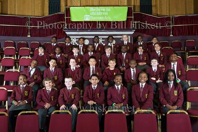 Barnardo's, Royal Albert Hall 23rd April 012. Group shots