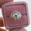 .82ct Old European Cut Diamond Art Deco Solitaire GIA M VS1 12