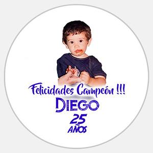 25 Cumpleaños Diego