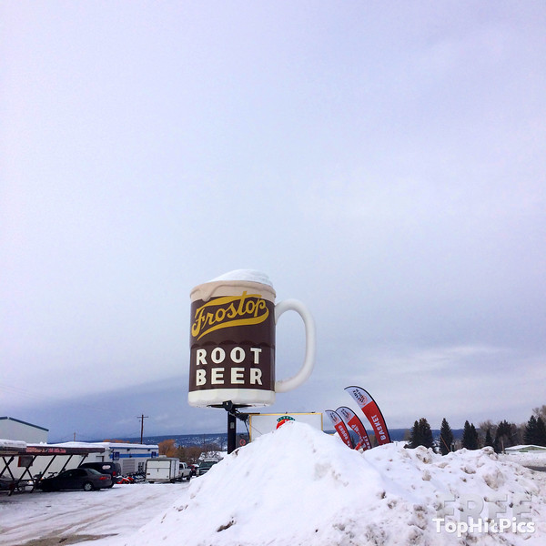 Frostop Root Beer Drive-In, Ashton, Idaho, USA