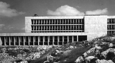 Hebrew University - 2 Buildings, Jerusalem - 1961