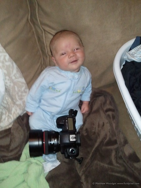 #177 Future photographer?