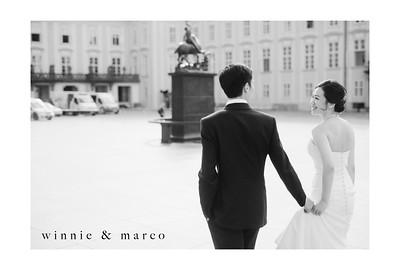 Overseas Pre-Wedding : Winnie and Marco - Prague