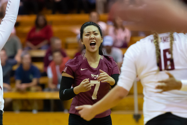 Willamette Volleyball (W) vs University of Puget Sound - Sep 27, 2019