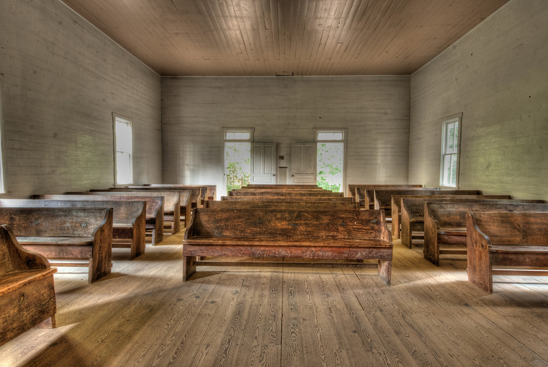 Smoky Moutains - Cades Cove Church