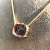 'INV My Letter' Pale Pink Glass Rebus Pendant, by Seal & Scribe 25