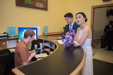 Robert and Elaine's wedding