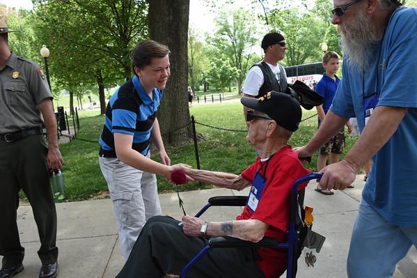 WW II Memorial May 2015