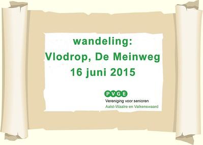 2015-0616 PVGE wandeling door Vlodrop