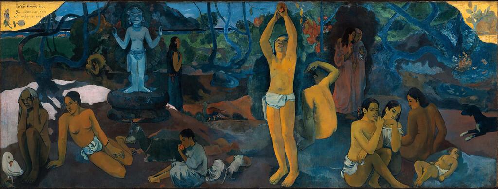 """Paul Gauguin, """"D'où Venons Nous / Que Sommes Nous / Où Allons Nous."""" (1897)"""