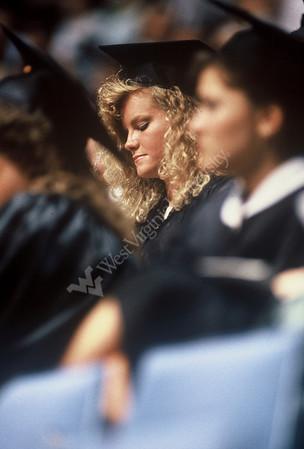 6421 slides Commencement 1988