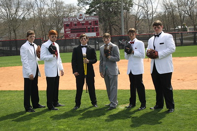 2015 Central High School Sr. Baseball Prom Pics