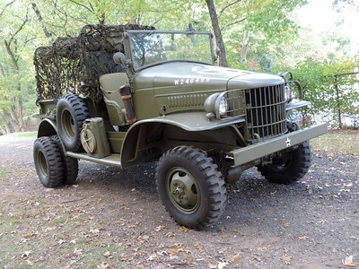 DODGE WC-21 POWER WAGON INFO ALBUM