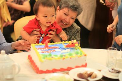 Justin's 1 Year Birthday