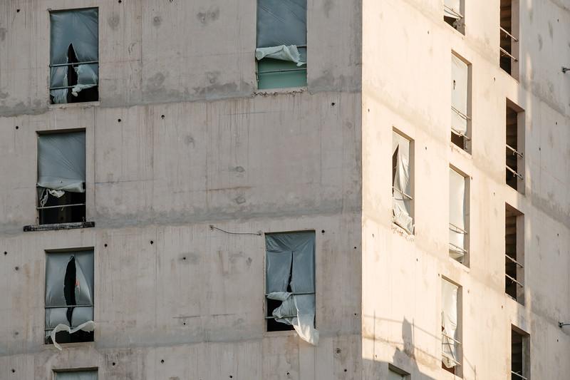 Construction site in Paris