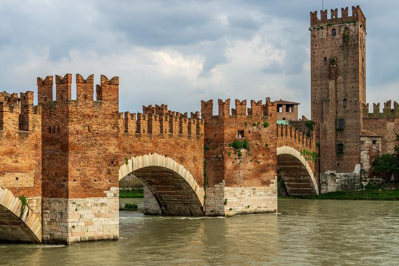 Verona's Castelvecchio Bridge