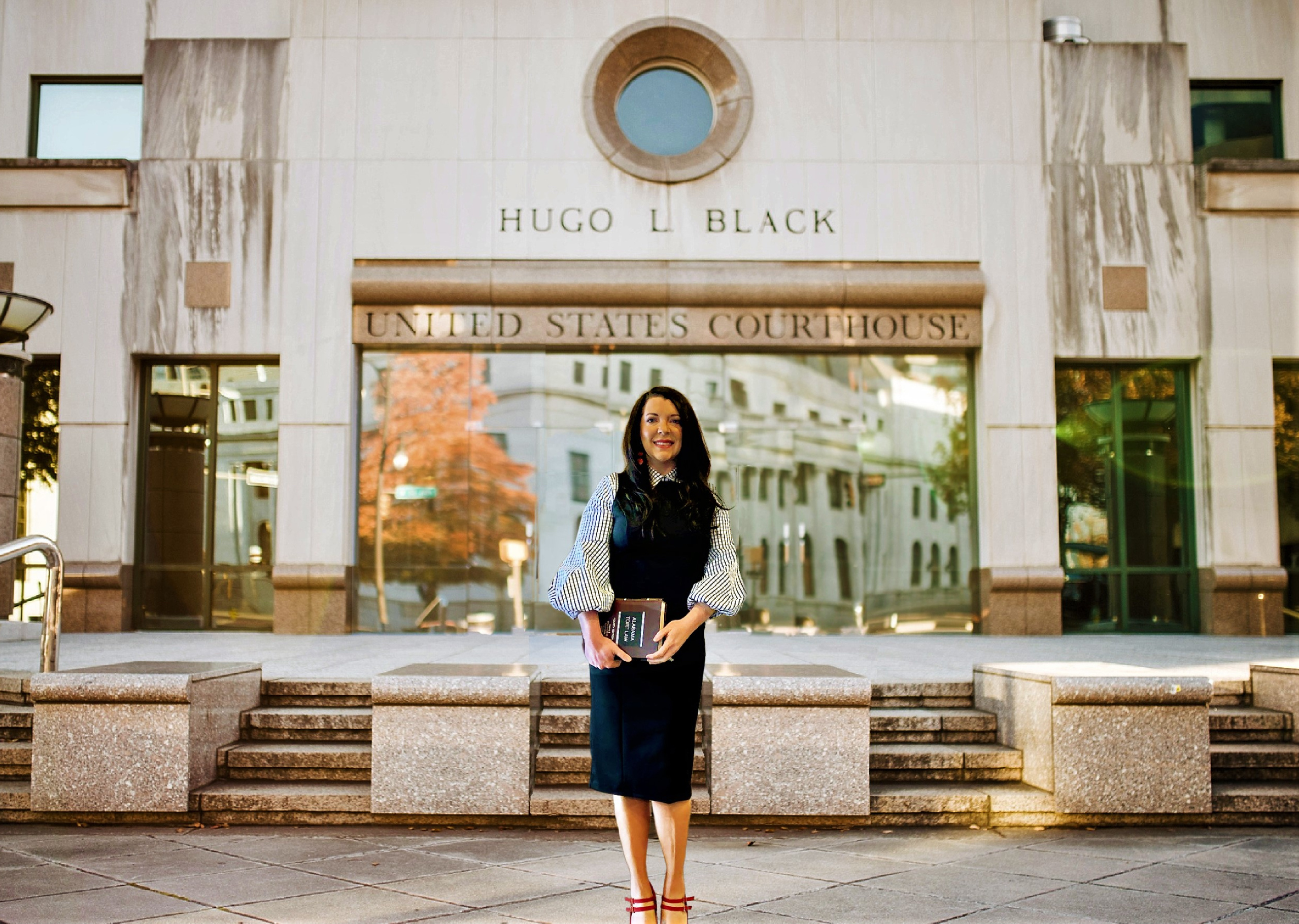 Image for Preeminence follows alumna into the courtroom