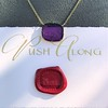 'Push Along' Purple Glass Pendant, by Seal & Scribe 18