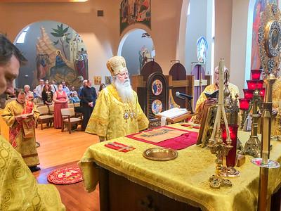Hierarchical Divine Liturgy with Metropolitan Tikhon