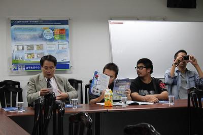 20121108 台大江昭皚教授帶碩博生前來參訪