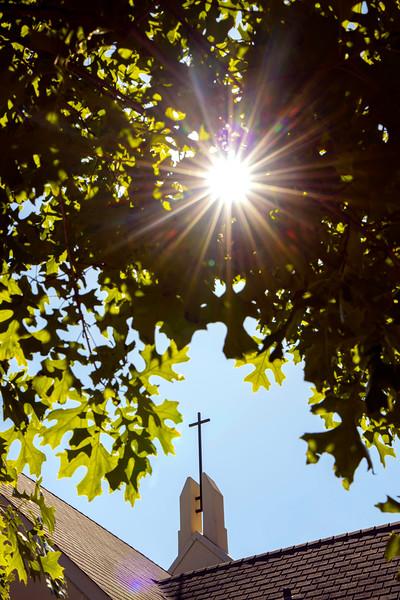 East Village Residential Community - Elliston Chapel - steeple, hall, spiritual