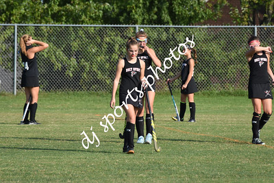 2019-09-16 North Oldham MS JV vs Holy Spirit Field Hockey