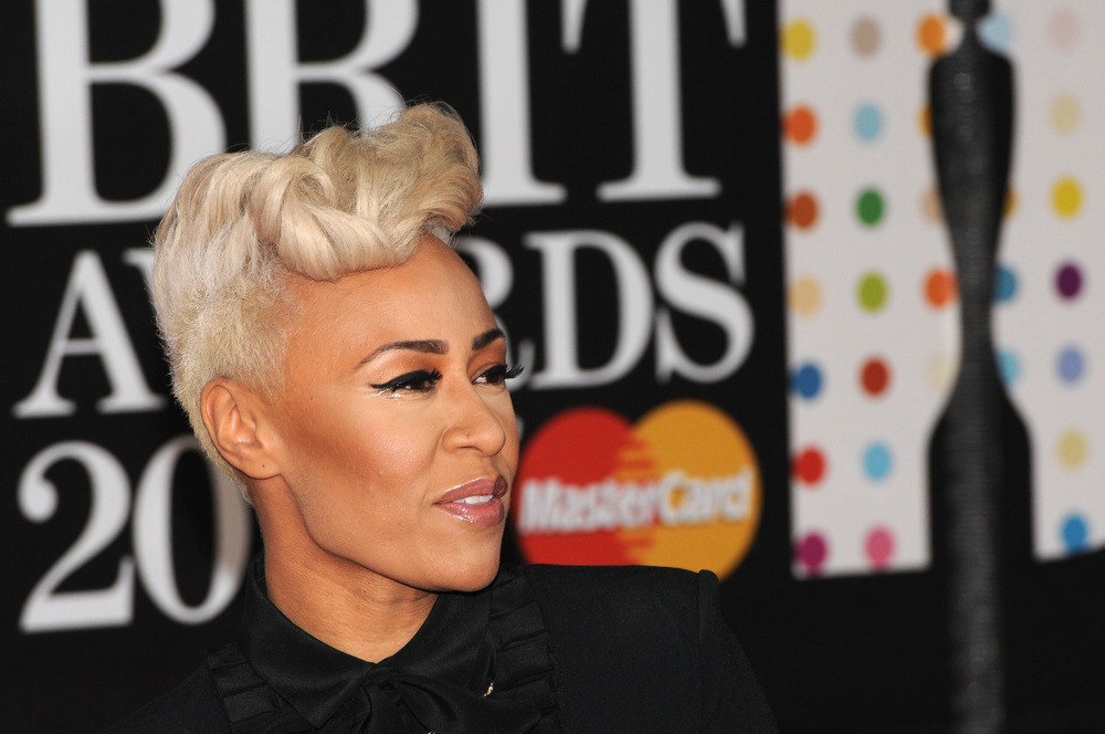Description of . Emeli Sandé attends the Brit Awards 2013 at the 02 Arena on February 20, 2013 in London, England.  (Photo by Eamonn McCormack/Getty Images)