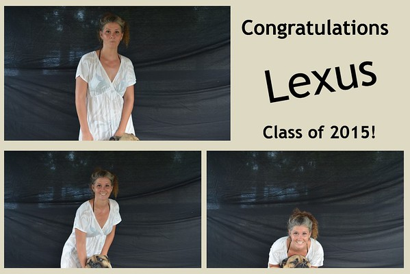 Lexus' Graduation, Class of 2015
