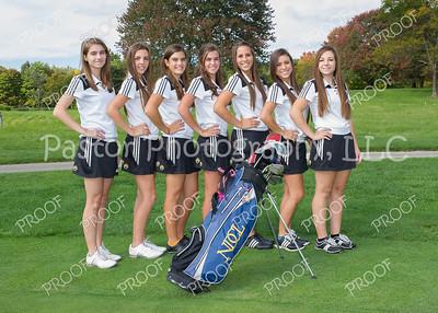 Girls Golf Individuals