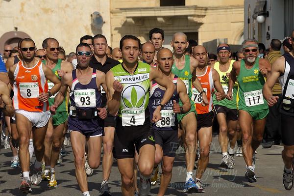 Dingli 10K Race   -  2009