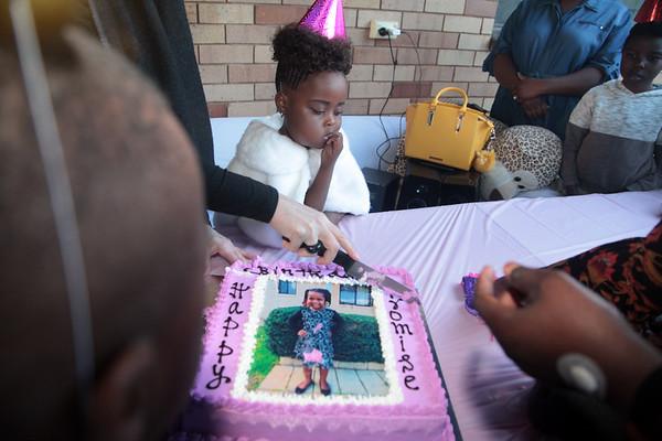 Promise's 5th birthday.