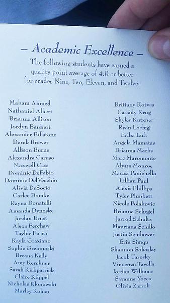 Alex's Graduation 2017