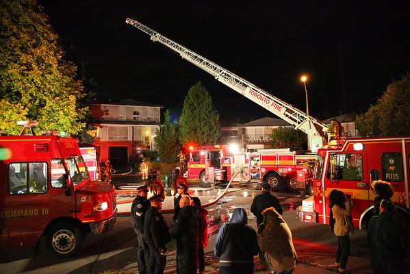 October 16, 2009 - 3rd Alarm - 35 Sepia Dr.