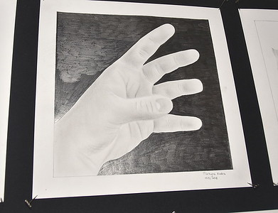 AMHS Art Presents Foreshortened Hands…Its All In The Detail photos by Gary Baker