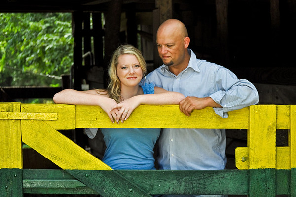 Rachel Barber + Kenneth Smith- Engagement