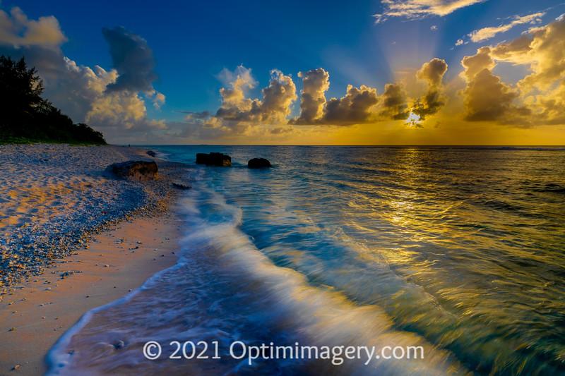 JULY 5, 2021: WING BEACH SUNSET