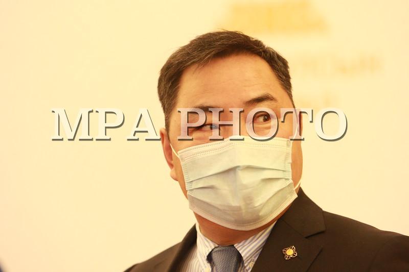 2020 дөрөвдүгээр сарын 07. УИХ-ын гишүүн Б.Пүрэвдорж мэдээлэл хийлээ. ГЭРЭЛ ЗУРГИЙГ Д.ЗАНДАНБАТ/МРА