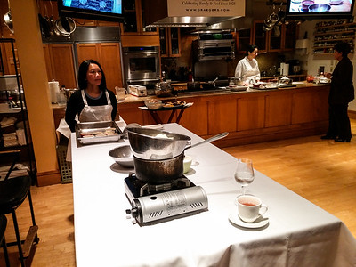 Draegers Cooking School - Chocolate desserts - February 7th 2015