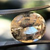 9.44ct Oval Peach Sapphire, with GIA No-Heat 15