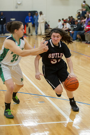 2014-02-21 BHS Girls Basketball - SW4A Conference Tournament Championship