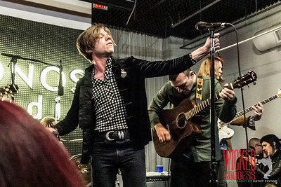 Cage the Elephant at Sonos Studios