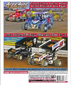 Area Auto Racing News - 2016