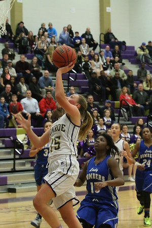 Girls Basketball def. Sayreville Bombers 45-39, Jan 6 2015