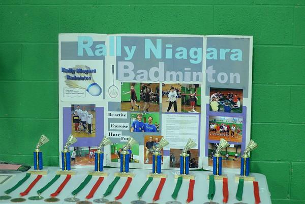 Rally Niagara Badminton Tournament