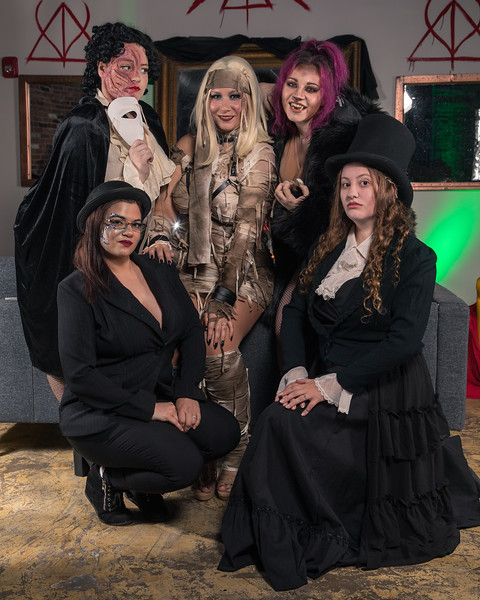 Backstreet Ghouls-Halloween Shoot at Spotlight