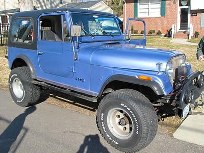 James' Jeep CJ7